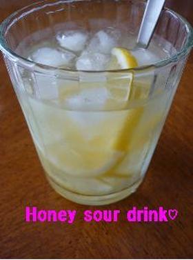 ハチミツレモンサワードリンク♪