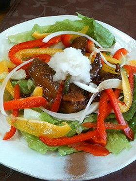 鶏手羽スペアリブのサラダ