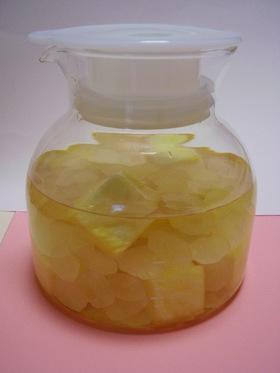 簡単*パイナップル酢ドリンク