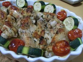 エスニック風鶏手羽元のオーブン焼き