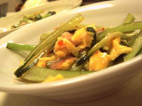 ステキ調味料♡小松菜と卵のスイチリ炒め♡