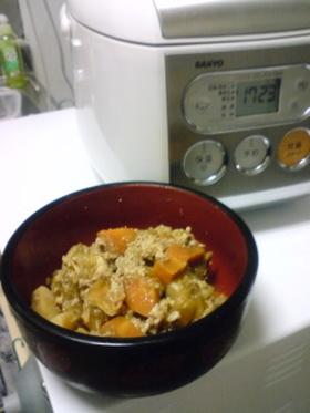 炊飯器で簡単!我が家の肉じゃが(´∀`)