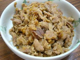 ご飯に良く合う☆豚肉の佃煮