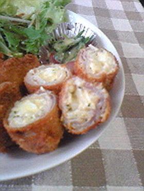 タルタルソースの豚肉巻き
