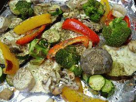 NYスタイル★グリルド・ベジタブル(Grilled Vegetables, NY Style)