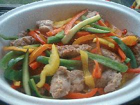 イタリアンなお惣菜*ISS&Pepper