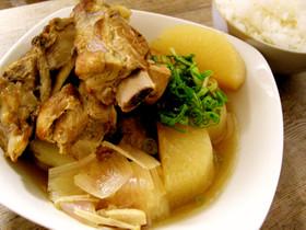 ご飯がすすむ、スペアリブと大根のおでん煮