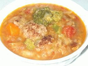 トロトロ野菜のトマトスープ☆