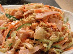 キムチのモシャモシャサラダ