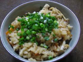 残り物活用レシピ☆残り汁で炊き込みご飯
