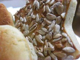ホワイトソルガム粉でひまわりパン