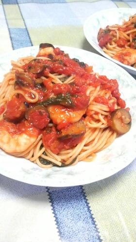 具はおこのみで♪トマトスパゲティー