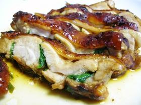 鶏肉シソはさみ焼゜+。:..:。+゜