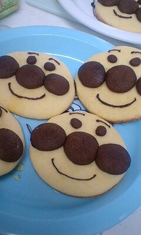 子供が喜ぶ☆アンパンマンクッキー☆
