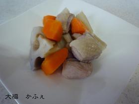 簡単・鶏と蓮根のあっさり煮