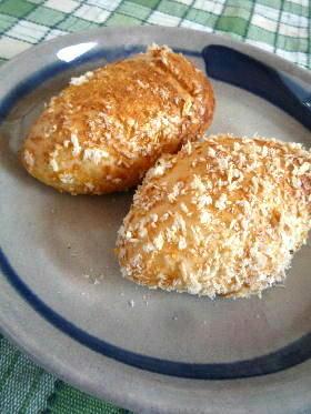 ご飯入りパン生地で 焼きカレーパン