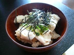かんたん☆豆腐丼