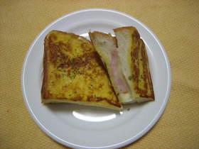 カリふわフレンチトーストサンド