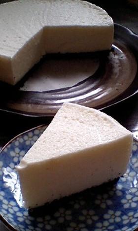 卵白消費☆ふわふわレアヨーグルトケーキ♪