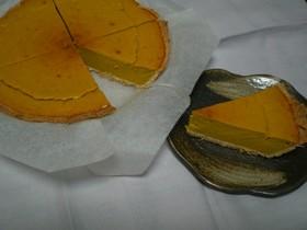 豆腐&おからで ヘルシーかぼちゃのタルト