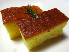 超簡単!さわやかオレンジジュースケーキ