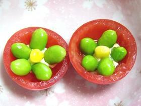 ばったもんプチトマトのお花☆彡