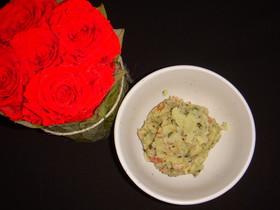 バジル風味のカリカリベーコンポテトサラダ