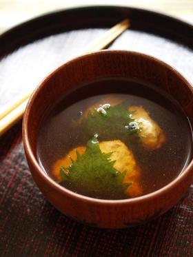 ジュワっと簡単!香り鶏団子スープ