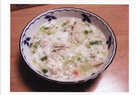 余った卵白の簡単中華スープ♪