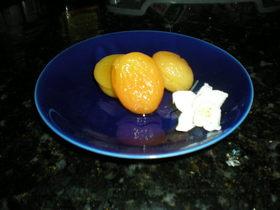 干し杏子の甘露煮