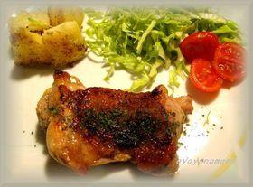 簡単で美味しい★鶏肉のマスタードソテー