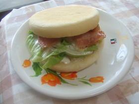 朝食に♪マック風サラダマリネマフィン☆