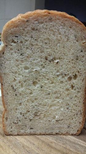 キャラウェイシードの食パン