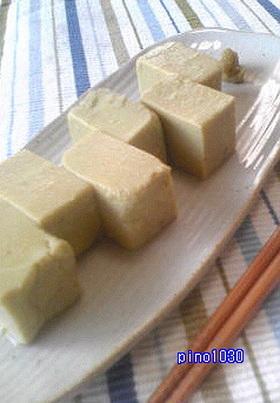綺麗になりましょ♪アボガド豆腐