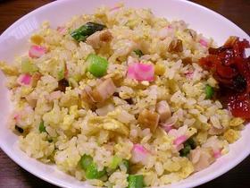 チャーハン用炊飯でパラパラ五目チャーハン
