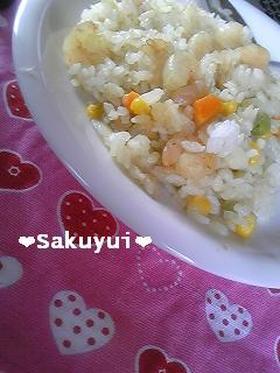 ❤炊飯器ピラフ❤