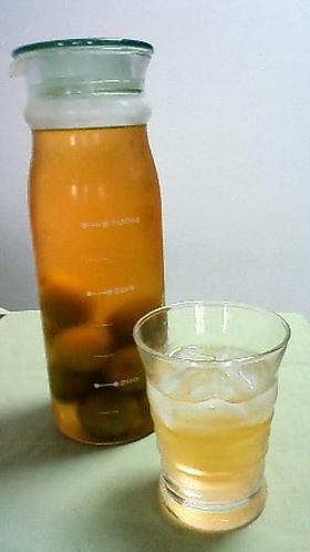 梅酒~ブランデー仕込み
