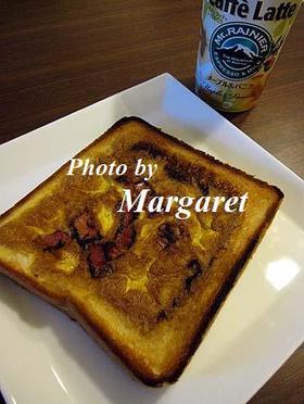 簡単トースト