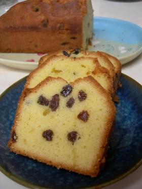 我が家のバターケーキ