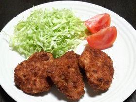 鶏胸肉のジューシーマヨネーズカツ