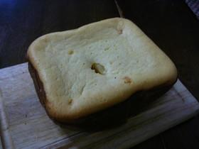 ホームベーカリーで簡単チーズケーキ
