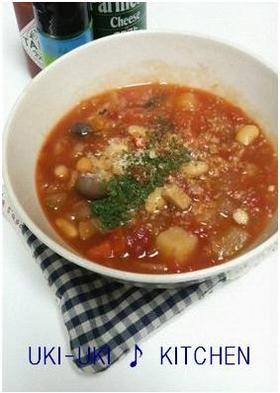 食べるスープ♪デトックストマトスープ