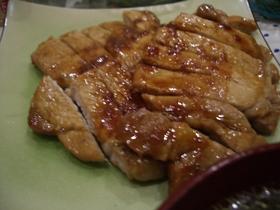 豚肉の照り焼き~生姜風味~