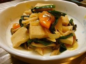 高野豆腐の野菜あんかけ煮