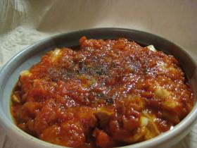 チーズがとろける~★鶏肉のトマト煮込み