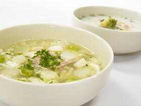 エコレシピ★アスパラ茹で汁 DE スープ