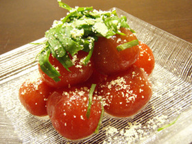 簡単 トマトサラダ