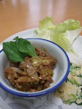 ハヤシソースの旨味de肉味噌?!