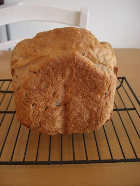 【HB】オートミールとくるみパン