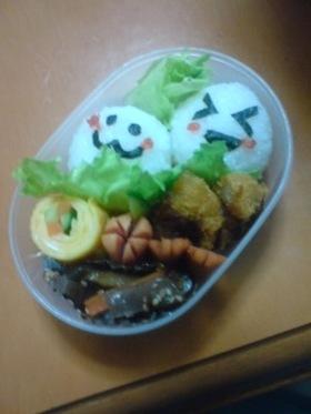 娘の幼稚園のお弁当